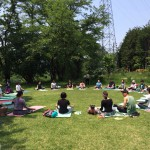 YOGA in the Park !!